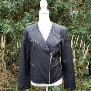 944eb64c5ac4 Apt. 9 Jackets   Coats - Like new black faux leather moto jacket